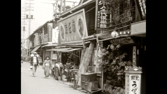 1930's japan - showa period stock videos & royalty-free footage