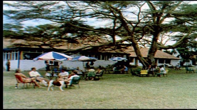 1960's lake naivasha - urlaubsort stock-videos und b-roll-filmmaterial