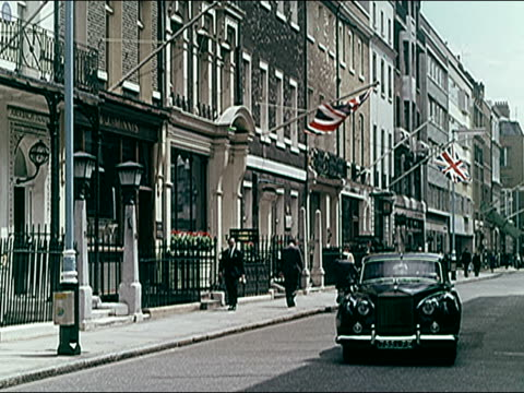 1960's london highlights - zebra crossing stock videos & royalty-free footage