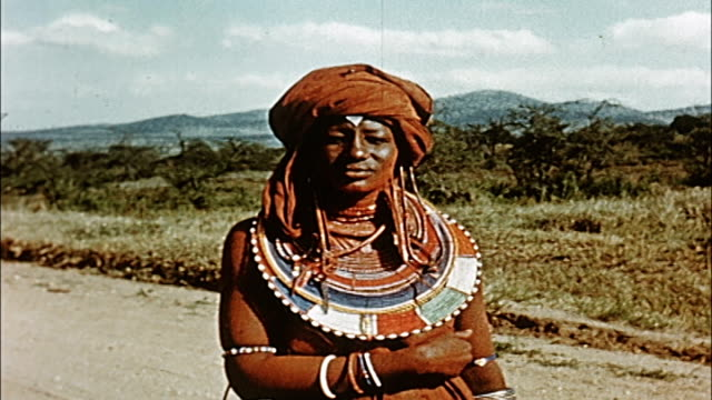 1960's masai people - tanzania stock videos & royalty-free footage