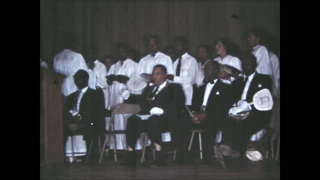 1950's - masonic ceremony, oklahoma, usa - auditorium stock videos & royalty-free footage