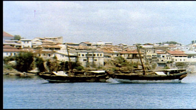 1960's mombasa, kenya - kenya stock videos & royalty-free footage