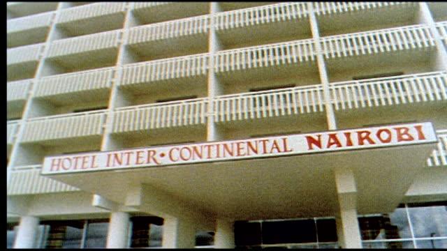 1960's nairobi hotel - urlaubsort stock-videos und b-roll-filmmaterial