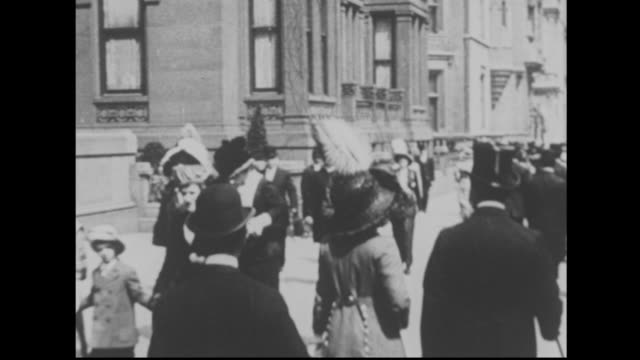 stockvideo's en b-roll-footage met 1910's new york - 19e eeuwse stijl
