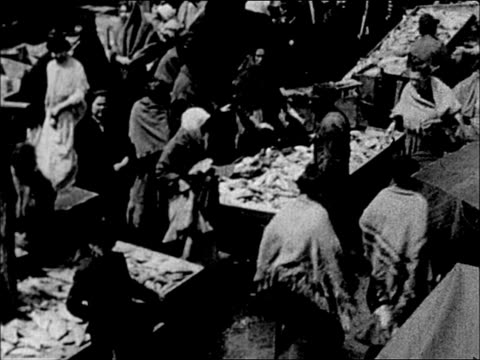 1900's nyc lower east side street market - lower east side bildbanksvideor och videomaterial från bakom kulisserna