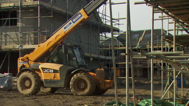 s of housing building site in essex - construction industry stock videos & royalty-free footage