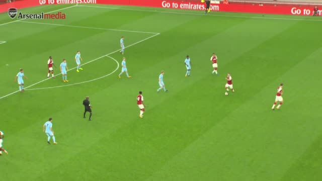HL's of the U23's game between Arsenal and Man City