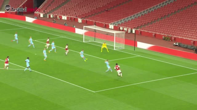 stockvideo's en b-roll-footage met hl's of the u23's game between arsenal and man city - sportwedstrijd