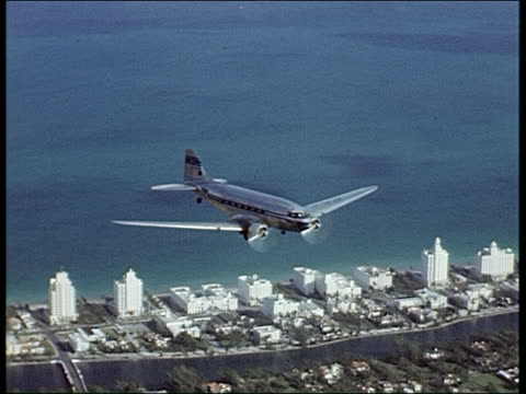 1940's pan am clipper - florida usa stock videos and b-roll footage