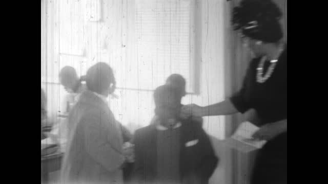 1960's - religious instruction at first baptist church of north tulsa - baptist bildbanksvideor och videomaterial från bakom kulisserna