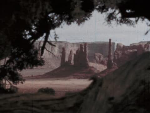 "1960's - rocky desert landscape of arizona - ""archive farms"" stock videos & royalty-free footage"
