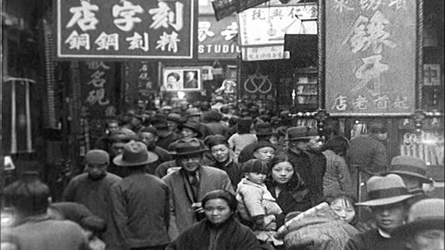 vidéos et rushes de 1930's shanghai - 1930