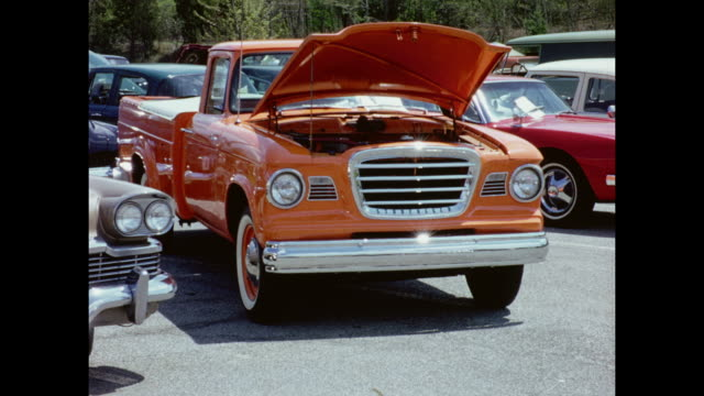 1970's Strasburg's Car Show Home Movie
