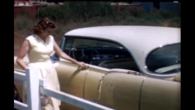 1950's suburban women - mid length hair stock videos & royalty-free footage