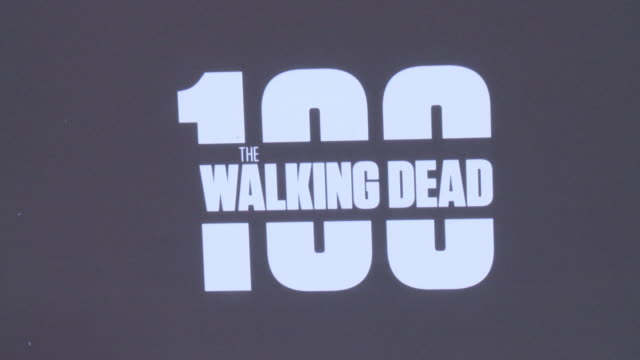 ATMOSPHERE AMC's The Walking Dead 100th Episode Season 8 Special Premiere Screening at The Greek Theatre on October 22 2017 in Los Angeles California