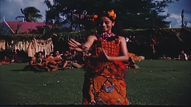 1960's tonga home movie - polynesian culture stock videos & royalty-free footage