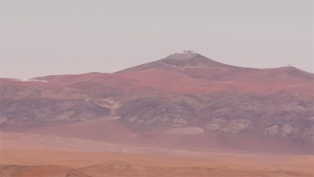 ESO's VLT observatory in the Atacama Desert seen from the ELT