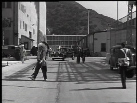 1930's warner brothers studio lot - warner bros stock videos & royalty-free footage