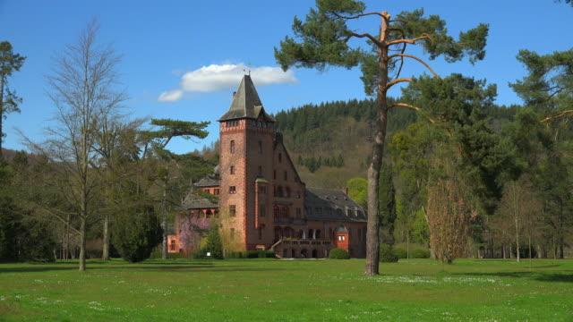 Saareck Palace of Villeroy & Boch, Mettlach, Saar Valley, Saarland, Germany