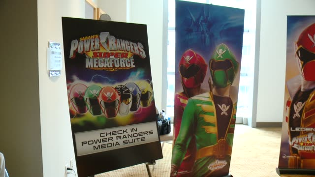 ATMOSPHERE Saban's Power Rangers At San Diego ComicCon on July 26 2014 in San Diego California
