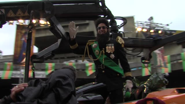 sacha baron cohen at the dictator: world premiere at the royal festival hall on may 10, 2012 in london, england - royal festival hall stock videos & royalty-free footage