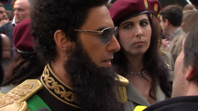world premiere at the royal festival hall on may 10 2012 in london england - dictator stock videos and b-roll footage