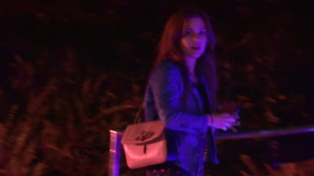 sacha baron cohen & isla fisher depart the this is the end after party at w hotel in westwood, 06/03/13 - sacha baron cohen stock-videos und b-roll-filmmaterial