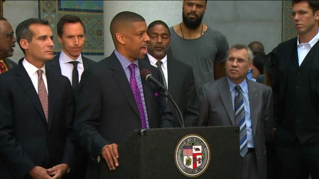 Sacramento Mayor Kevin Johnson Comments on Clippers and Donald Sterling Ban