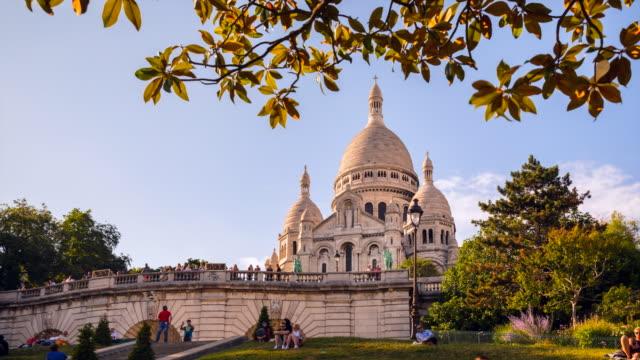 vídeos y material grabado en eventos de stock de sacre coeur basilica, tl, ms - basílica del sagrado corazón de montmartre