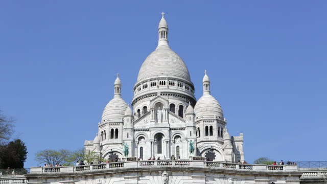 Sacre Coeur, Montmartre, Paris, France, Europe