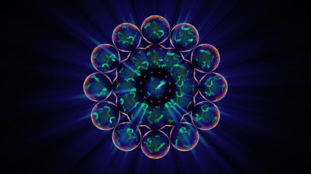 sacred geometry 1003: the flower of life - new age stock videos & royalty-free footage