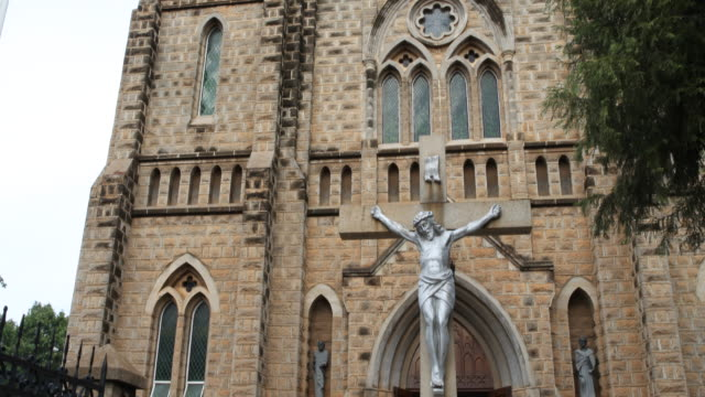 sacred heart cathedral, harare - harare stock videos and b-roll footage