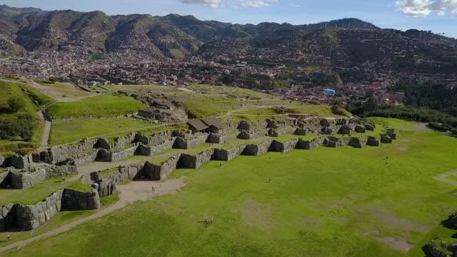 Sacsayhuaman The magnificent Inca fortress, Cusco Peru.