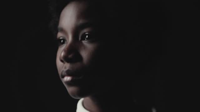 sad boy ,  in shadow - actor stock videos & royalty-free footage