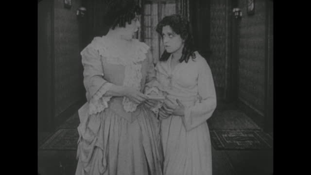 1917 sad girl (alice lake) receives no letters in women's dormitory - 1910 stock videos and b-roll footage