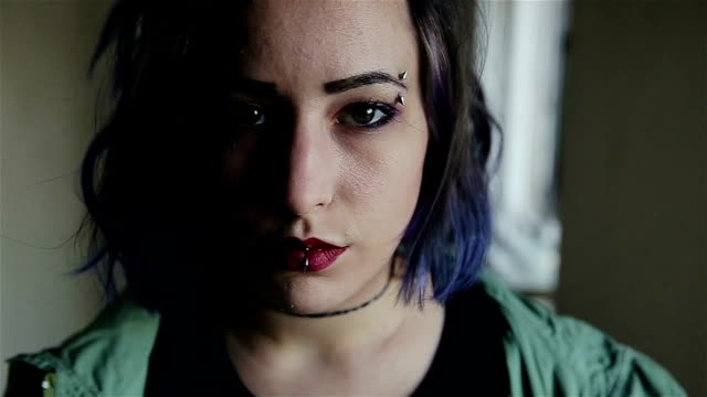 sad girl,close up - abuse stock videos and b-roll footage