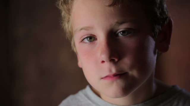 sad little boy - boys stock videos & royalty-free footage