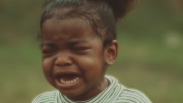 sad little girl crying - offspring stock videos & royalty-free footage