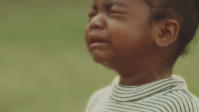 sad little girl crying - losing virginity stock videos & royalty-free footage