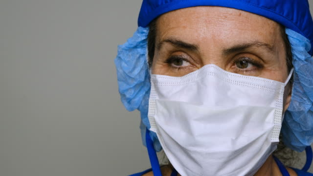 sad, sick, overworked, female health care worker - exhaustion stock videos & royalty-free footage