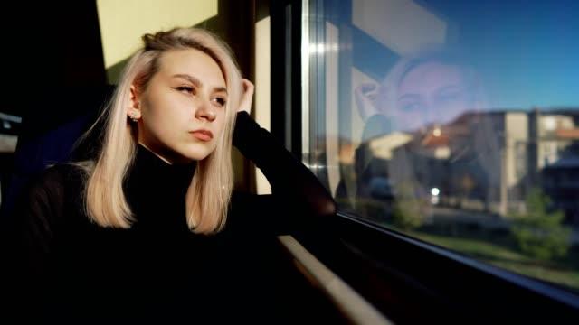 sad teenage traveler - nostalgia stock videos & royalty-free footage