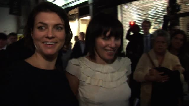 Sadie Frost arrives at a London Fashion Week party cohosted by Longchamp Kate Moss Sadie Frost Sighting at Longchamp Store on September 21 2010 in...