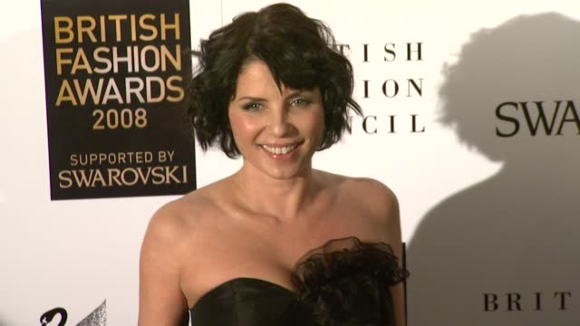Sadie Frost at the British Fashion Awards arrivals at London