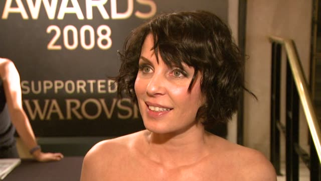 Sadie Frost on getting ready for tonight on how difficult her year's been financially and on what she's wearing at the British Fashion Awards...