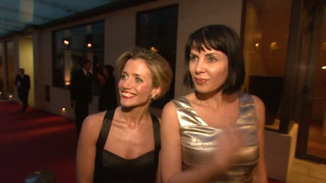 Sadie Frost on her first time at the Olivier Awards and future projects of hers including writing a book at the Laurence Olivier Awards 2009 at London