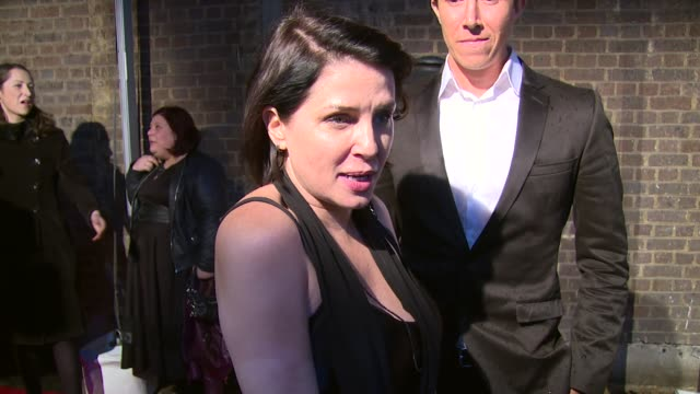 INTERVIEW Sadie Frost on the awards and Idris Elba at The London Television Centre on February 07 2016 in London England