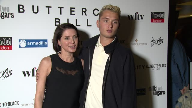 BROLL Sadie Frost Rafferty Law at Curzon Soho on September 01 2015 in London England