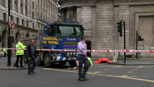 Sadiq Khan criticised for policy on banning some HGVs from London by 2020 T22061512 / 2262015 Lorry involved in fatal collision with cyclist being...
