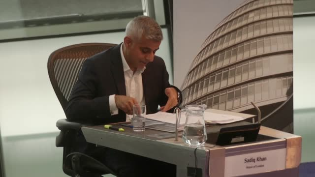 Sadiq Khan criticises Theresa May's government and Kensington and Chelsea council over responses to the Grenfell Tower fire