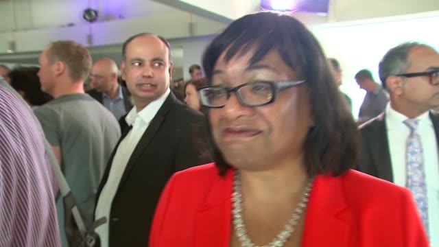 Sadiq Khan elected as Labour's candidate for London Mayor Tessa Jowell MP interview SOT / Diane Abbott MP interview SOT / David Lammy MP interview...